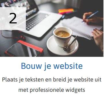 Bouw je website