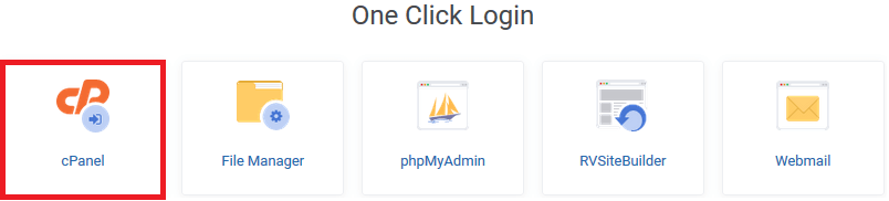 One Click Login