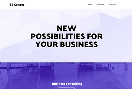 Site Builder Business Template