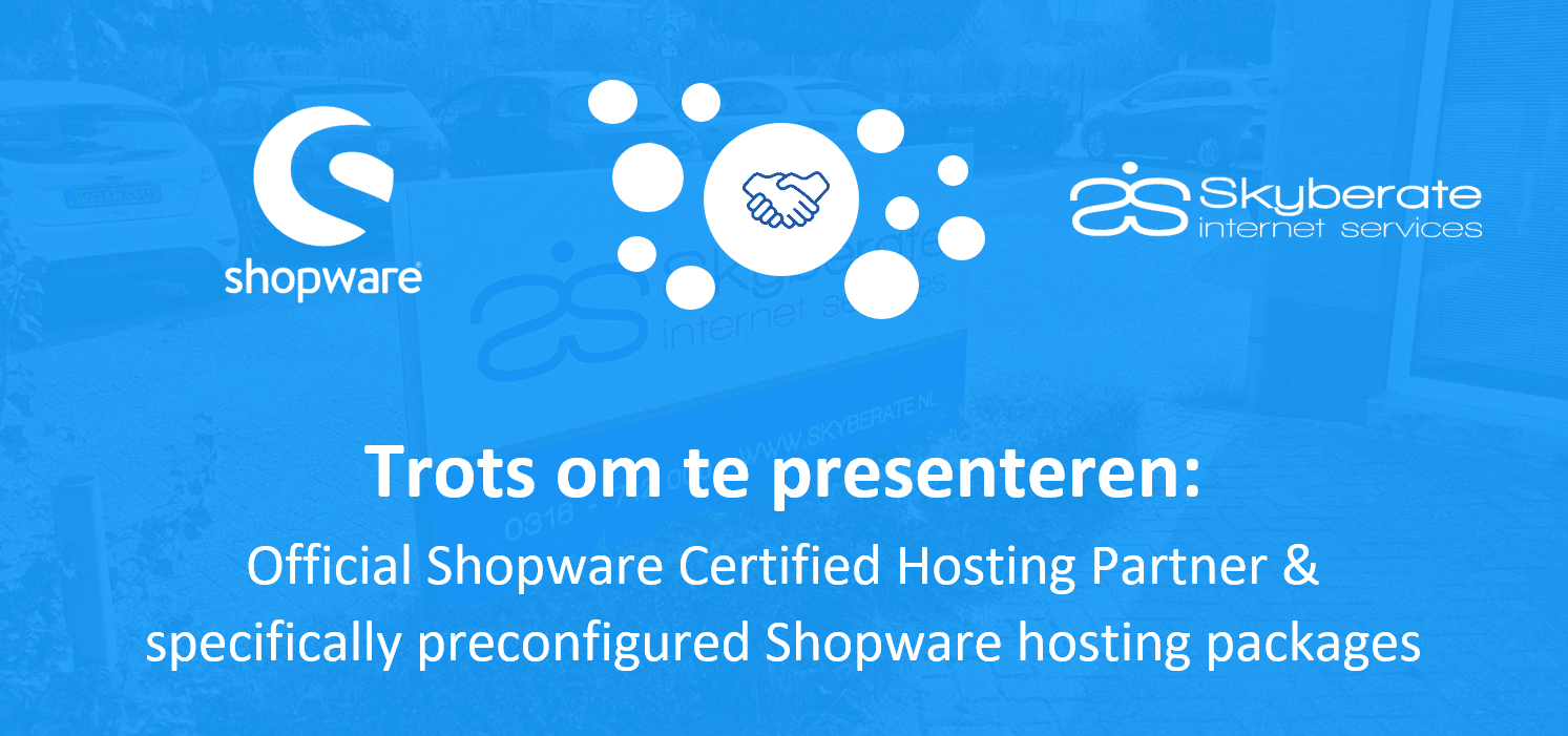 Skyberate Official Shopware Hosting Partner